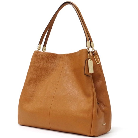 Coach Handbags - Coach Madison Leather Small Phoebe Bag 26224